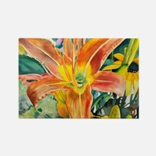 Tiger Lily Original Watercolor Magnets