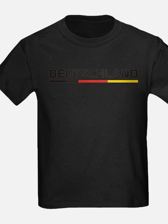 Soccer DEUTSCHLAND Stripe T-Shirt