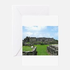 Ruins of Tulum Greeting Cards