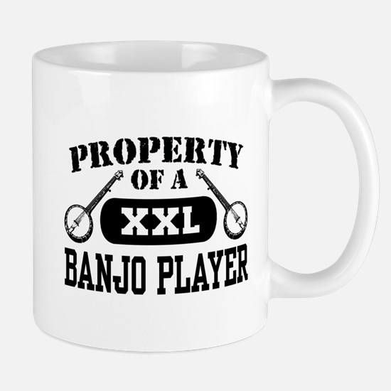 Property of a Banjo Player Mug