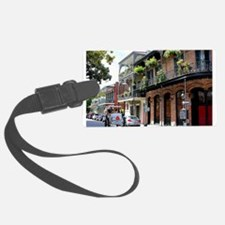 French Quarter Street Luggage Tag