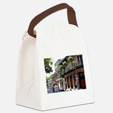 French Quarter Street Canvas Lunch Bag