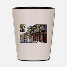 French Quarter Street Shot Glass