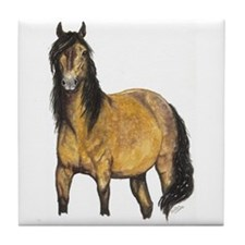 Quarter Horse Tile Coaster