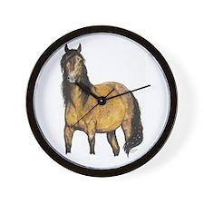 Quarter Horse Wall Clock