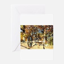 Gettysburg Cannon Greeting Cards