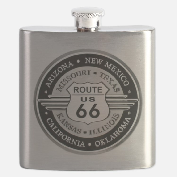 Route 66 states Flask