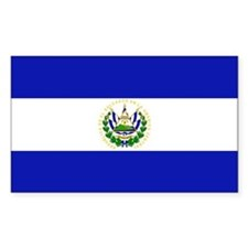 El Salvador Rectangle Decal