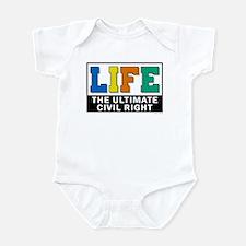 Civil Rights 2 Infant Bodysuit