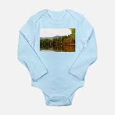 Fall In Love With Autumn In New England Body Suit