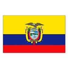 Equador Rectangle Decal