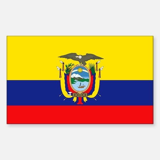 Equador Rectangle Decal