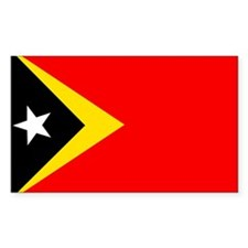 East Timor Rectangle Decal