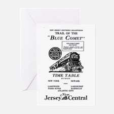 The Blue Comet Greeting Cards (Pk of 10)