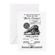 The Blue Comet Greeting Cards (Pk of 20)