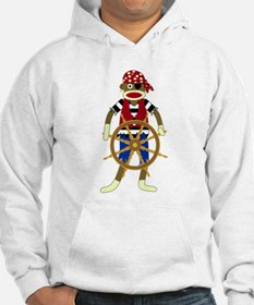 Sock Monkey Pirate Hoodie
