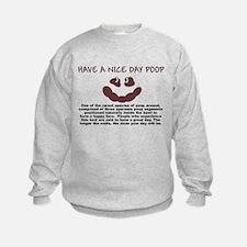 HAVE A NICE DAY SHIRT SMILEY  Sweatshirt