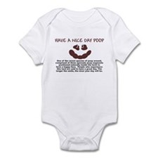 HAVE A NICE DAY SHIRT SMILEY  Infant Bodysuit