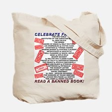 Banned Book Stamp Tote Bag