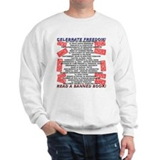 Banned Book Stamp Sweatshirt