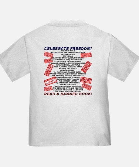 Banned Book Stamp T
