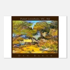 Point Lonsdale, VIC, AU Postcards (Package of 8)
