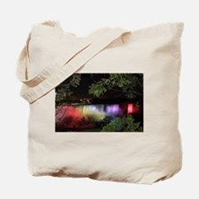 American Falls at night Tote Bag
