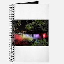 American Falls at night Journal