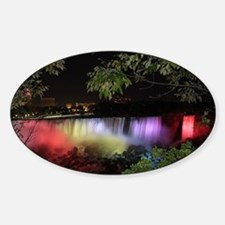 American Falls at night Decal
