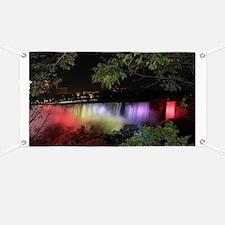 American Falls at night Banner