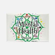 Mental-Health-Lotus Magnets
