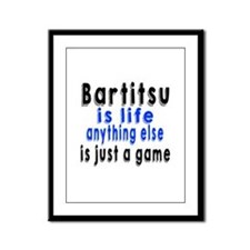 Rugby Is a Game played by Men Sticker (Rectangular