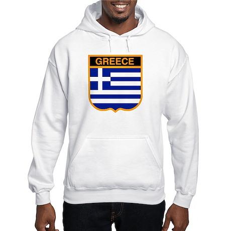 Greek Hooded Sweatshirt