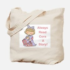 Read Cora a Story Tote Bag