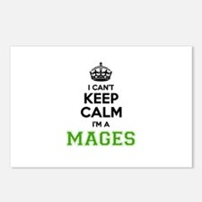 MAGES I cant keeep calm Postcards (Package of 8)