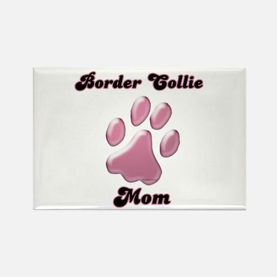 Border Collie Mom3 Rectangle Magnet