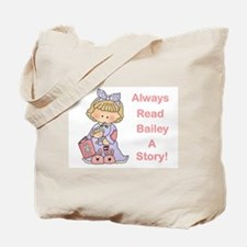 Read Bailey a Story Tote Bag