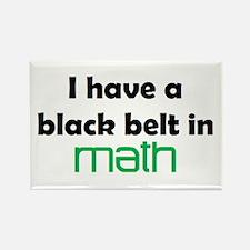 math black belt Rectangle Magnet