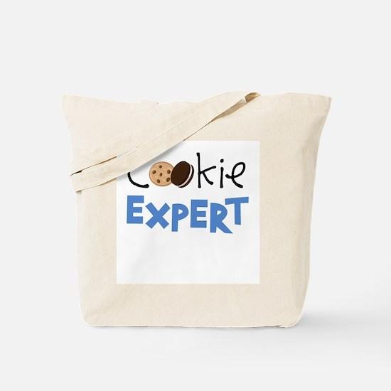Cookie Expert (Blue) Tote Bag