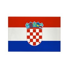 Croatia Rectangle Magnet