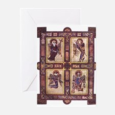 Gospels Page Greeting Cards