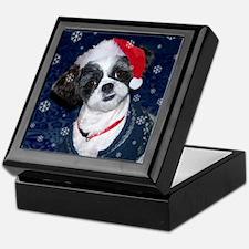 Shih Tzu Santa Keepsake Box