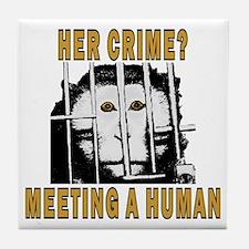 Her Crime? Tile Coaster