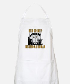 Her Crime? BBQ Apron