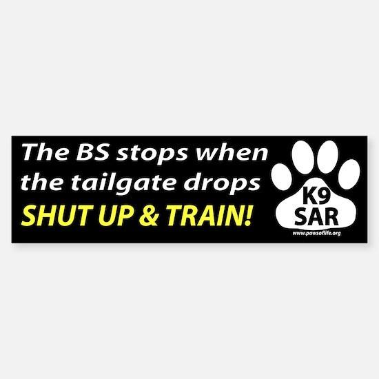 Shut up and train.