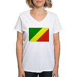 Congo Women's V-Neck T-Shirt