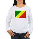 Congo Women's Long Sleeve T-Shirt
