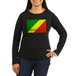 Congo Women's Long Sleeve Dark T-Shirt