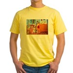 Room / Golden Yellow T-Shirt
