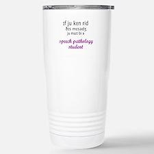 Spiffy speech Travel Mug